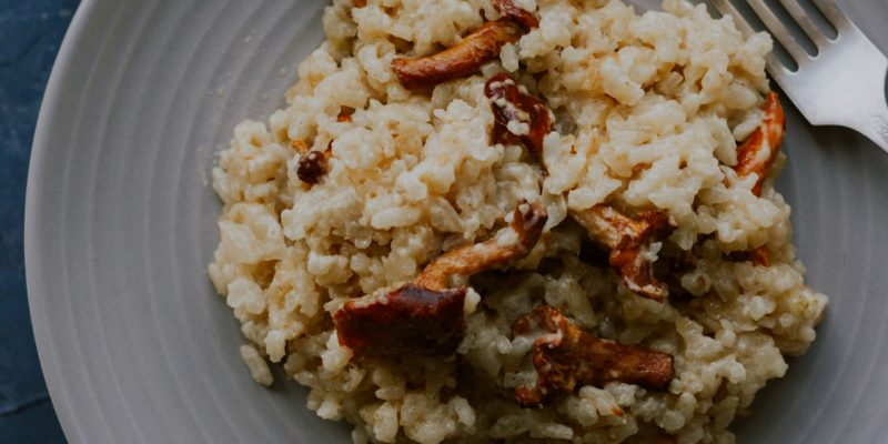 quels sont les ingredients indispensable pour la recette du risotto a la courgette